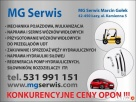 Naprawa/serwis wózków widłowych,auto naprawa,wulkanizacja Łazy
