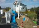 Drewniany domek dla dzieci, plac zabaw - BabaJaga - 1