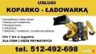 Usługi koparkowe budowlane Malbork koparko-ładowarka TANIO Malbork