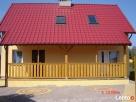 Domek drewniany oraz pokoje z tarasami Stegna