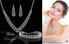 Biżuteria Ślubna Swarovski i wieczorowy - 1