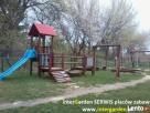 Malowanie, naprawy ławek parkowych, na placu zabaw