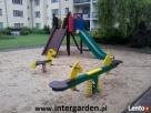 Malowanie, naprawy ławek parkowych, na placu zabaw - 5
