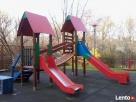 Malowanie, naprawy ławek parkowych, na placu zabaw - 4