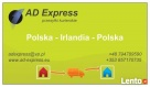 Paczki Irlandia Polska - AD Express - PEWNIE i SOLIDNIE Kraków