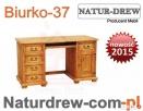 Biurko 37 z Drewna,Drewniane,meble z Drewna Warszawa,Produce - 1