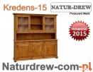 Duży drewniany Kredens 15 ,PRODUCENT Mebli z Drewna Litego Lublin