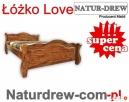 Łóżko z Drewna Love 140x200 od PRODUCENTA - Różne Kolory Wrocław