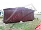 Garaż Blaszany 6x6 Dwuspadowy WZMOCNIONY PRODUCENT - 1
