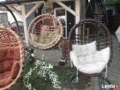 Fotel bujany wiklinowy wiszący PRODUCENT - 5