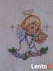 Aniolki Stróże dla Bobasków -haft ręczny - 3