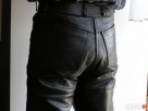 Spodnie skórzane ARIZONA na motor DAMSKIE/MESKIE - 1