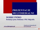 prezentacje multimedialne Katowice