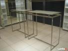 Gondole regały stoły sklep krzesla Nierdzewka stal - 4