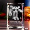 Kryształ 3D z motywem Mech 3D - DEDYKACJA GRATIS! - 2