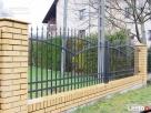 Przęsło ogrodzeniowe nowoczesny wzór D-06 blacha - 7