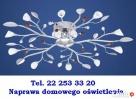 Naprawa żyrandoli i kinkietów Elektryk tel.22 25 333 20 Warszawa