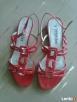Czerwone sandałki CCC Olkusz