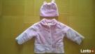 Komplet dla małej damy jak NOWY- kurteczka, kożuszek+czapka Płock