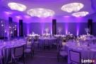 Dekoracje światłem, oświetlenie architektoniczne sali, wesel - 4