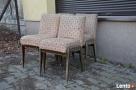 4 Krzesła AGA, Fotel AGA , Krzesło PRL, Meble PRL, Art deco - 1