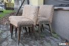 4 Krzesła AGA, Fotel AGA , Krzesło PRL, Meble PRL, Art deco - 6