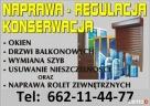 NAPRAWA OKIEN,ROLET POZNAŃ 662-11-44-77 SERWIS,REGULACJE