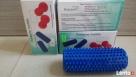 Wałek do rehabilitacji/masażu z kolcami Φ 5 x 16 cm (niebies - 2