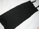 Czarna Sukienka Tuba Gnieciona HIT 38 M Ołówkowa - 5