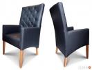 Krzesła, fotele tapicerowane do domu do restauracji. - 6