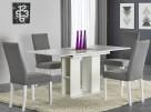 Nowoczesny Stół === Rozkładany 130-170cm === BIAŁY POŁYSK
