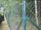 Kompletne ogrodzenie z siatki plecionej - PRODUCENT - 2