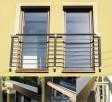 Balkon Francuski Balustrada Okienna Nowoczesna Barierka Nier - 7