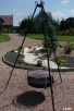 Grill kuty ogrodowy z paleniskiem, trójnóg, Grill Cygański,