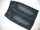 Saix Dżinsowa spódnica Ołówkowa 34 XS j Nowa - 3