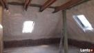 Ocieplanie pianą poliuretanową PUR dachów poddaszy garaży - 5