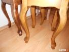 Taboret,taborecik,stołeczek,ławeczka,toaletka,nogi drewniane - 1