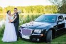 Auto do ślubu Chrysler 300C wynajem cena 400zŁ Kalisz Ostrów - 5