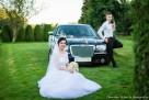 Auto do ślubu Chrysler 300C wynajem cena 400zŁ Kalisz Ostrów - 7