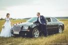 Auto do ślubu Chrysler 300C wynajem cena 400zŁ Kalisz Ostrów - 6