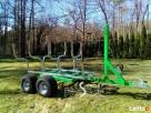 Przyczepka do quada ciągnika traktorka 3 w jednym SOLIDNA - 8