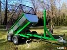 Przyczepka do quada ciągnika traktorka 3 w jednym SOLIDNA - 2