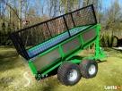Przyczepka do quada ciągnika traktorka 3 w jednym SOLIDNA - 5