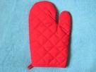 Rękawica kuchenna czerwona - 2