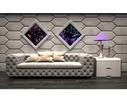 Beton architektoniczny - panele ścienne 3D - SONIC - ZICARO