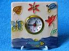 Zegarek z budzikiem zegarek ceramiczny zegarek ozdobny