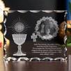 Piękny kryształ 3D ze zdjęciem jako prezent na I Komunię - 3