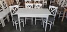 Krzesło prowansalskie twarde białe/siwe Producent nowe - 2