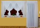 Firanki na okno balkonowe, balkon,taras, szycie firan,firany - 6