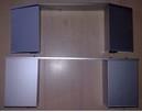 Cokół noga do szafki stolika aluminium anodowane - 3